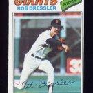 1977 Topps Baseball #011 Rob Dressler - San Francisco Giants