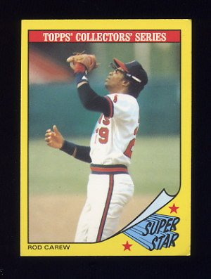 1986 Woolworth's Baseball #06 Rod Carew - California Angels