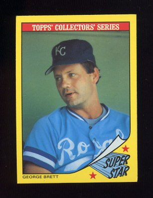 1986 Woolworth's Baseball #04 George Brett - Kansas City Royals