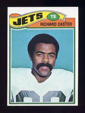 1977 Topps Football #512 Richard Caster - New York Jets