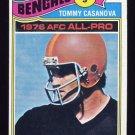1977 Topps Football #510 Tommy Casanova - Cincinnati Bengals