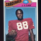 1977 Topps Football #504 J.V. Cain - St. Louis Cardinals