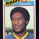 1977 Topps Football #493 Ron Jessie - Los Angeles Rams
