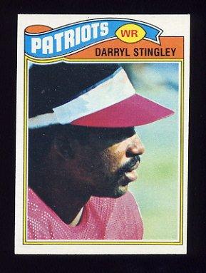 1977 Topps Football #479 Darryl Stingley - New England Patriots