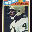 1977 Topps Football #467 Chuck Muncie RC - New Orleans Saints