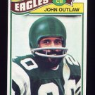 1977 Topps Football #466 John Outlaw - Philadelphia Eagles