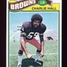 1977 Topps Football #458 Charlie Hall - Cleveland Browns