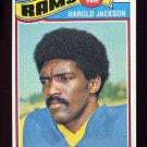 1977 Topps Football #445 Harold Jackson - Los Angeles Rams