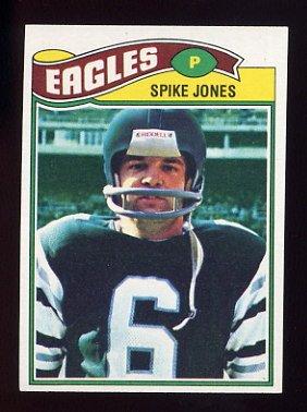 1977 Topps Football #426 Spike Jones - Philadelphia Eagles