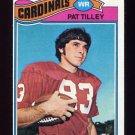 1977 Topps Football #412 Pat Tilley RC - St. Louis Cardinals ExMt
