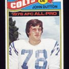 1977 Topps Football #410 John Dutton - Baltimore Colts NM-M