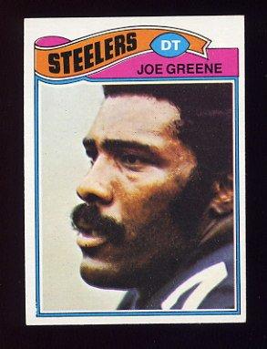 1977 Topps Football #405 Joe Greene - Pittsburgh Steelers