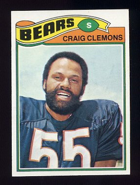 1977 Topps Football #399 Craig Clemons - Chicago Bears