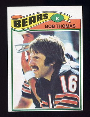 1977 Topps Football #382 Bob Thomas - Chicago Bears