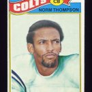 1977 Topps Football #379 Norm Thompson - Baltimore Colts