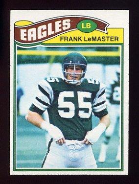 1977 Topps Football #373 Frank LeMaster - Philadelphia Eagles