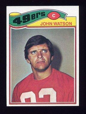 1977 Topps Football #364 John Watson - San Francisco 49ers