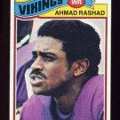 1977 Topps Football #359 Ahmad Rashad - Minnesota Vikings