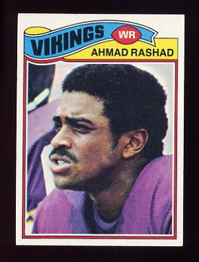 1977 Topps Football #359 Ahmad Rashad - Minnesota Vikings