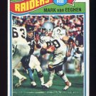 1977 Topps Football #354 Mark Van Eeghen RC - Oakland Raiders