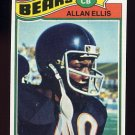 1977 Topps Football #321 Allan Ellis - Chicago Bears