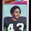 1977 Topps Football #319 Frank Lewis - Pittsburgh Steelers