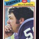 1977 Topps Football #309 Wally Hilgenberg - Minnesota Vikings