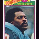 1977 Topps Football #299 Wayne Moore - Miami Dolphins