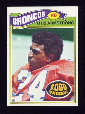 1977 Topps Football #285 Otis Armstrong - Denver Broncos