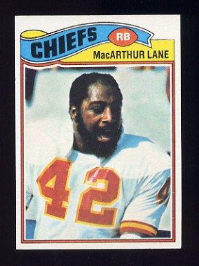 1977 Topps Football #273 MacArthur Lane - Kansas City Chiefs