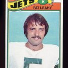 1977 Topps Football #267 Pat Leahy - New York Jets
