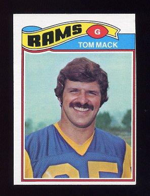 1977 Topps Football #265 Tom Mack - Los Angeles Rams Ex