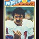 1977 Topps Football #251 Russ Francis - New England Patriots