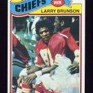 1977 Topps Football #244 Larry Brunson - Kansas City Chiefs