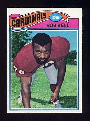 1977 Topps Football #241 Bob Bell - St. Louis Cardinals