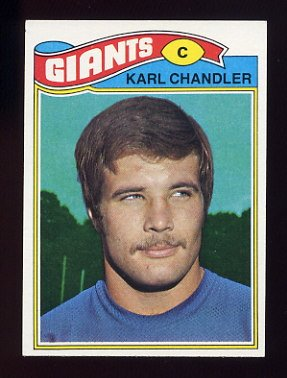 1977 Topps Football #236 Karl Chandler - New York Giants