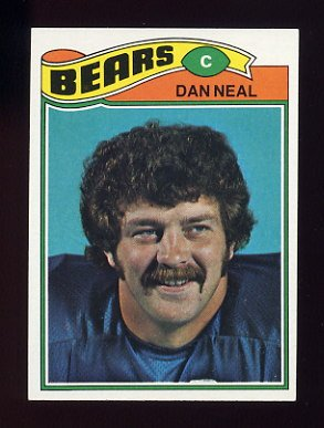 1977 Topps Football #181 Dan Neal - Chicago Bears
