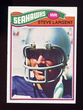 1977 Topps Football #177 Steve Largent RC - Seattle Seahawks NM-M