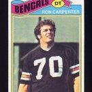 1977 Topps Football #168 Ron Carpenter - Cincinnati Bengals