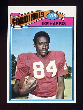 1977 Topps Football #161 Ike Harris - St. Louis Cardinals