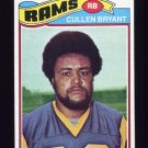 1977 Topps Football #154 Cullen Bryant - Los Angeles Rams