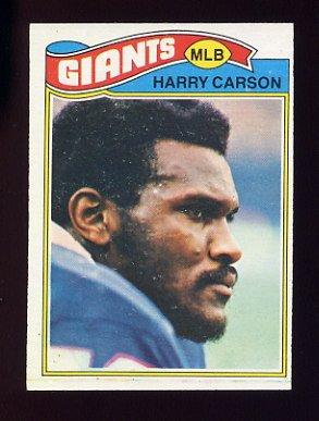 1977 Topps Football #146 Harry Carson RC - New York Giants