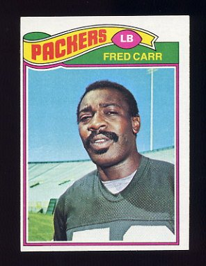 1977 Topps Football #133 Fred Carr - Green Bay Packers