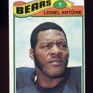 1977 Topps Football #121 Lionel Antoine - Chicago Bears
