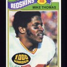 1977 Topps Football #115 Mike Thomas - Washington Redskins