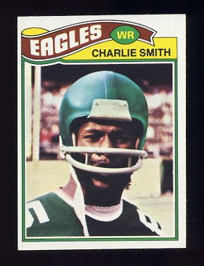 1977 Topps Football #103 Charlie Smith - Philadelphia Eagles