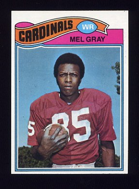 1977 Topps Football #081 Mel Gray - St. Louis Cardinals
