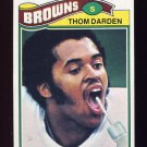 1977 Topps Football #069 Thom Darden - Cleveland Browns