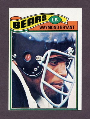 1977 Topps Football #061 Waymond Bryant - Chicago Bears