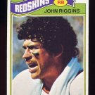 1977 Topps Football #055 John Riggins - Washington Redskins
